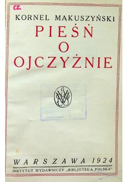 Pieśń o ojczyźnie 1924 r