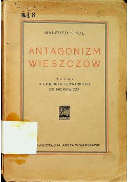 Antagonizm wieszczów 1925 r.