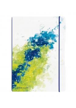 Notatnik A4/2x40K kratka+linia, My.BookF Splash Le