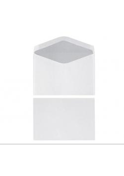 Koperta C6 70g biała (25szt)