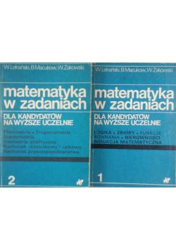 Matematyka w zadaniach Tom I i II