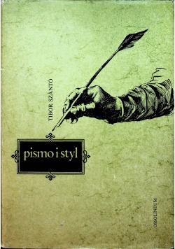 Pismo i styl