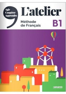 Atelier B1 podręcznik + DVD-ROM