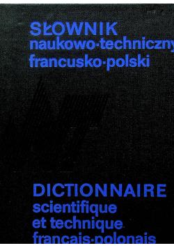 Słownik naukowo techniczny francusko polski