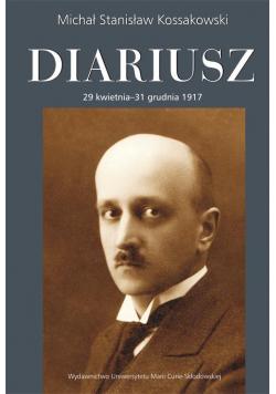 Diariusz. 29 kwietnia - 31 grudnia 1917