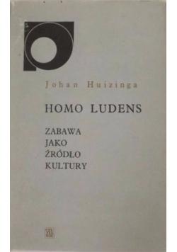 Homo ludens Zabawa jako źródło kultury