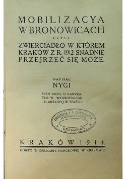 Mobilizacja w Bronowicach 1914 r.