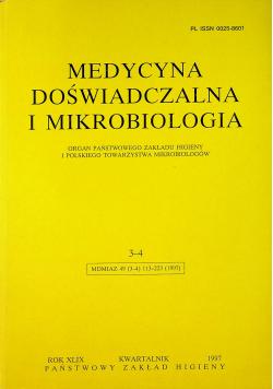 Medycyna doświadczalna i mikrobiologia 3-4