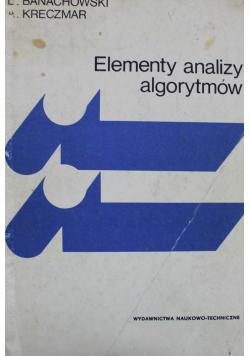 Elementy analizy algorytmów