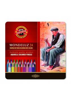Kredki Mondeluz 3724 24 kolory