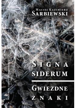 Signa siderum - Gwiezdne znaki