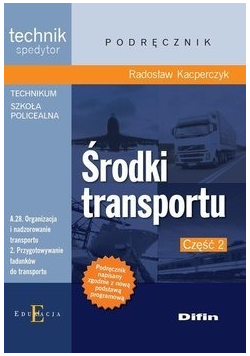 Podręcznik Środki transportu część 2