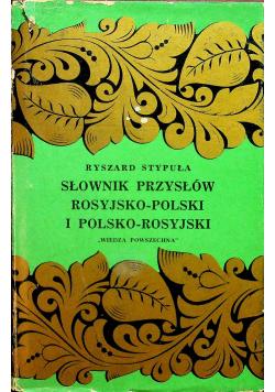 Słownik przysłów rosyjsko polski i polsko rosyjski