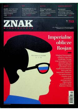 Znak miesięcznik nr 712