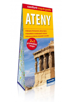 Ateny 2w1 Przewodnik i mapa