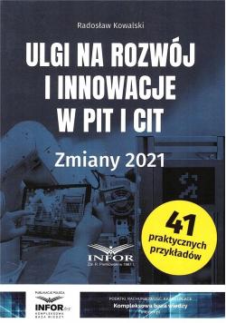 Ulgi na rozwój i innowacje w PIT i CIT