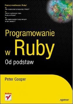 Programowanie w Ruby Od podstaw