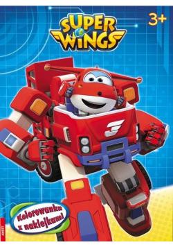 Super Wings. Kolorowanka z naklejkami