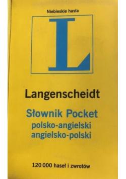 Słownik Pocket polsko angielski angielsko polski