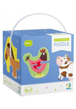 Puzzle 2-3-4 Zwierzęta domowe