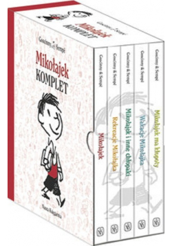Mikołajek komplet 5 książek