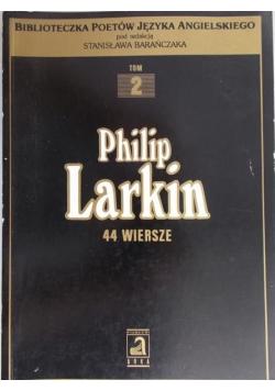 Larkin 44 wiersze