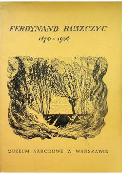 Ferdynand Ruszczyc 1870 1936