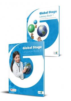 Global Stage 1 Language/Literacy Book + kod NAVIO