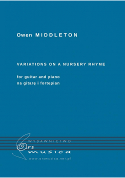 Variations on a nursery rhyme for guitar and piano
