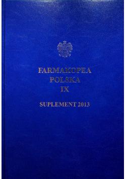 Farmakopea Polska IX Suplement