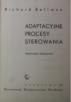 Adaptacyjne procesy sterowania