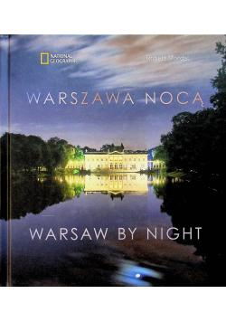 Warszawa nocą Warsaw By Night