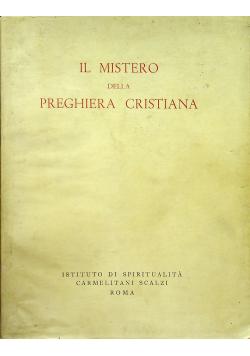 l Mistero della Preghiera Cristiana