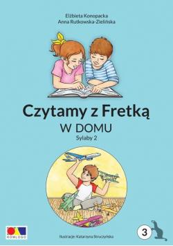 Czytamy z Fretką cz.3 W domu. Sylaby 2