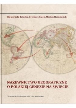 Nazewnictwo geograficzne o polskiej genezie na św.
