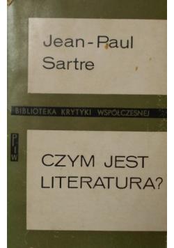 Czym jest literatura