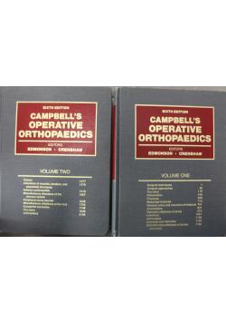 Campbells Operative Orthopaedics 2 tomy