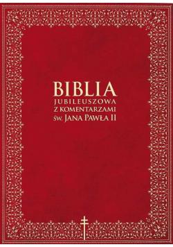 Biblia jubileuszowa z komentarzami św Jana Pawła II
