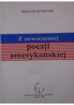 Z nowoczesnej poezji amerykańskiej Autograf Boczkowski