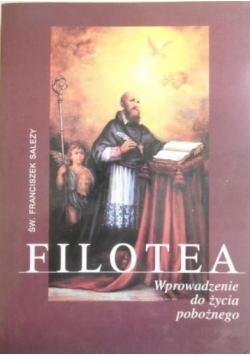 Filotea wprowadzenie do życia pobożnego