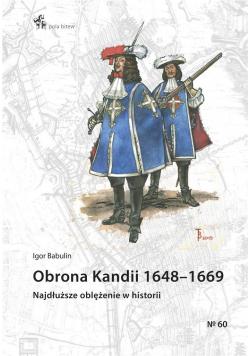 Obrona Kandii 1648-1669