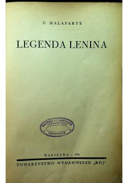 Legenda Lenina 1938 r.