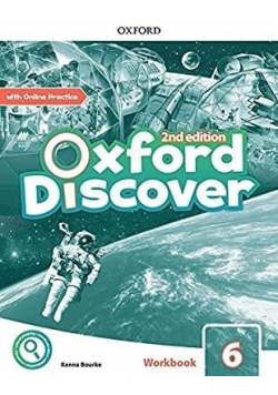Oxford Discover 2E 6 WB + online practice