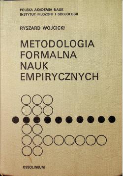 Metodologia formalna nauk empirycznych