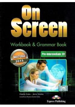 On Screen Pre Intermed B1 Matura WB&Grammar Book