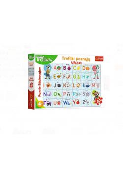 Puzzle Edukacyjne Trefliki poznają alfabet TREFL
