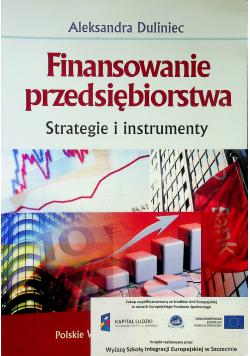 Finansowanie przedsiębiorstwa