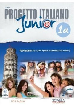 Progetto Italiano Junior 1a podręcznik + CD