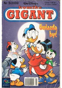 Komiks Gigant Nr 5 Gwiazdą być