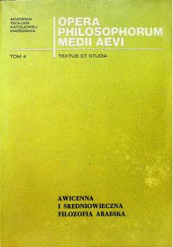 Awicenna i średniowieczna filozofia arabska